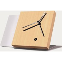 Beech Wood Finished Tact Table Clock