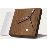 Walnut Wood Finished Tact Table Clock