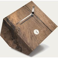 Oak Wood Finished Harlem Table Clock