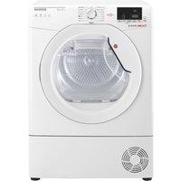 Image of Hoover DXH9A2DE 9kg Heat Pump Condenser Tumble Dryer - WHITE