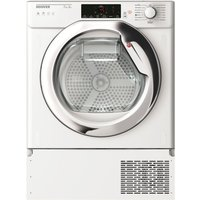 Image of Hoover HBTDWH7A1TCE-80 7kg Integrated Heat Pump Condenser Tumble Dryer - WHITE