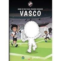 Vasco - Meu Pequeno Vascaíno | Livro Infantil Personalizado