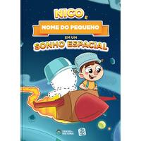 DSOP - Educação Financeira | Sonho Espacial | Livro Infantil personalizado