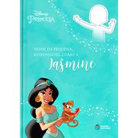Jasmine | Livro Personalizado Disney