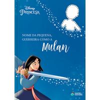 Mulan   Livro Personalizado Disney