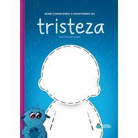 Monstrinho da Tristeza | Livro Personalizado | Coleção Socioemocional
