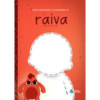 Monstrinho da Raiva | Livro Personalizado | Coleção Socioemocional