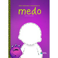 Monstrinho do Medo | Livro Personalizado | Coleção Socioemocional