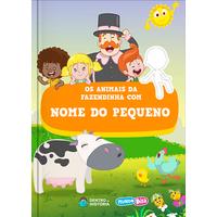 Mundo Bita | Livro Personalizado | Animais da Fazendinha