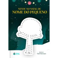 Nevou no Natal | Livro Personalizado
