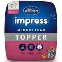 Silentnight Impress 25cm Memory Foam Mattress Topper - Double