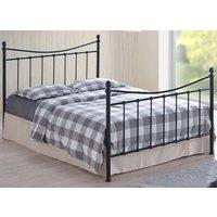 Time Living Black Alderley Bed Frame - Small Double