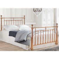 Time Living Rose Gold Alexander Bed Frame - King Size