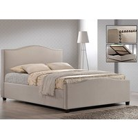Time Living Sand Brunswick Ottoman Bed Frame - Double