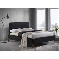 Time Living Black Durban Bed Frame - King Size