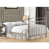 Time Living Chrome Edward Bed Frame - Double