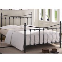 Time Living Black Florida Bed Frame - King Size
