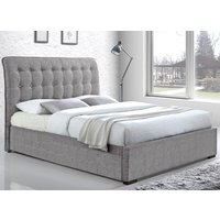 Time Living Light Grey Hamilton Bed Frame - Double