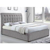 Time Living Light Grey Hamilton Bed Frame - Super King