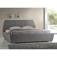 Time Living Grey Naxos Bed Frame - Double