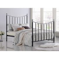 Time Living Black Vienna Bed Frame - Double