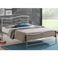 Time Living Silver Waverley Bed Frame - Double