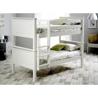 Bedmaster White Ashley Bunk Bed - Single