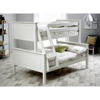 Bedmaster White Ashley Triple Sleeper - Small Double