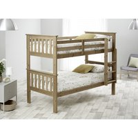 Bedmaster Pine Carra Bunk Bed - Single