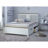 Bedmaster White Chester Bed - Single