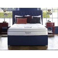Sleepeezee Beautyrest Boutique Lexington 1800 Divan Bed Set - Double, 2 Drawers, Teal