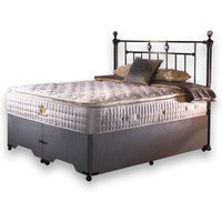 William Night Latex Pillow Top 5000 Divan Set - Single