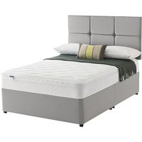 Silentnight Allure Miracoil Cushion Top Divan Set - King Size, 2 Drawers, Silentnight_Sandstone
