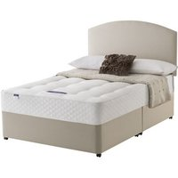 Silentnight Classic Ortho Miracoil Divan Set - Double, No Storage, Silentnight_Sandstone