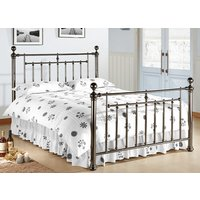 Time Living Black Nickel Alexander Bed Frame - King Size