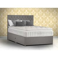 Sleepeezee Pure Emperor 4000 Pocket Natural Divan Set - Super King - Zip & Link, 2+2 Continental Drawers, Sleepeezee_Joshua Latte