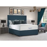 Sleepeezee PocketGel Immerse 2200 Divan Bed Set - Small Double, No Storage, Pewter