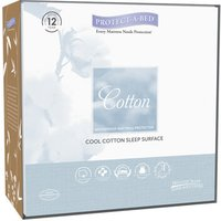 ProtectABed Cool Cotton Mattress Protector - Small Double