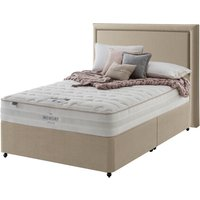 Silentnight Willow 2000 Mirapocket Memory Divan Set - Super King, 4 Drawers, Silentnight_Slate Grey