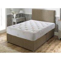 Bed Butler Pocket Royal Comfort 3000 Divan Set - Double, Soft, No Storage, Hyder_Wool Latte