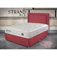 Sleepeezee Perfectly British Strand 1400 Pocket Divan Set - Super King, Side Opening Ottoman