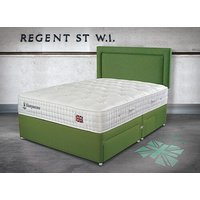 Sleepeezee Perfectly British Regent 2600 Pocket Divan Set - Super King - Zip & Link, 2+2 Continental Drawers, Sleepeezee_Joshua Ash