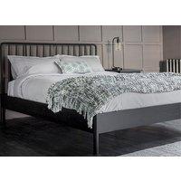 Frank Hudson Living Wycombe Spindle Black Bed Frame - King Size