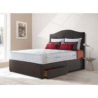 Sealy Posturepedic Millionaire President Firm Divan Set - Double, 2+2 Continental Drawers, Sealy_Fawn