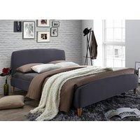 Time Living Geneva Grey Bed Frame - Double