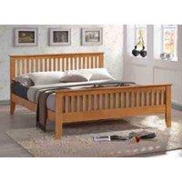 Time Living Turin Honey Oak Bed Frame - King Size