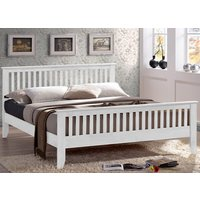 Time Living Turin White Bed Frame - Double