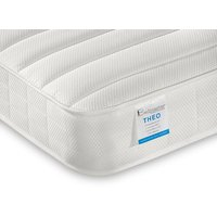 """Bedmaster theo pocket sprung low profile mattress - small single (2'6"""" x 6'3"""")"""