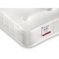 """Bedmaster clay ortho low profile mattress - single (3' x 6'3"""")"""