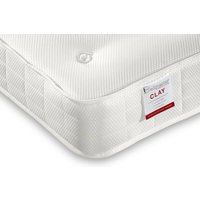 """Single (3' x 6'3"""") - bedmaster clay ortho low profile mattress"""